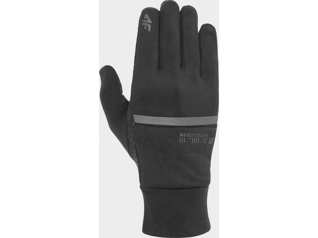 Rękawice do biegania 4F REU101 Czarne