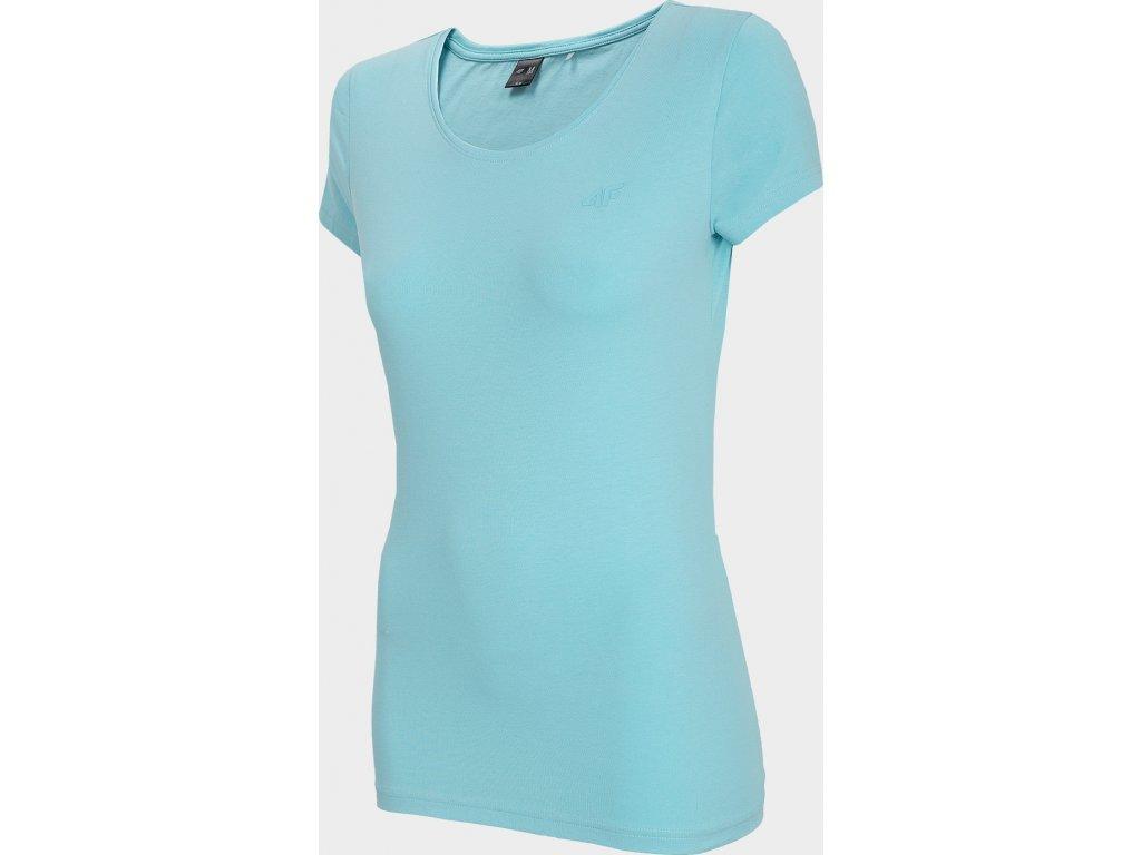 Koszułka damska 4F TSD300 Turquoise