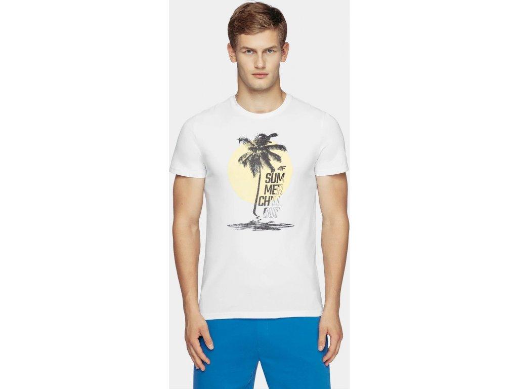 Koszułka męska 4F TSM254 biała