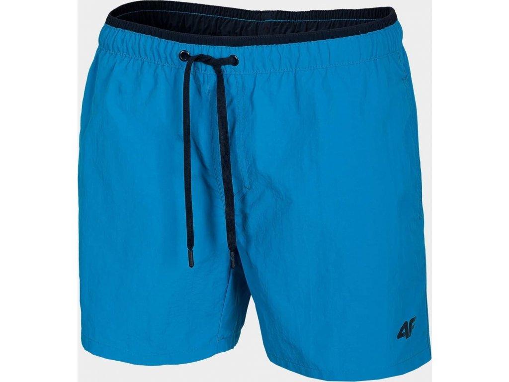 Męskie szorty plażowe 4F SKMT208 Niebieskie