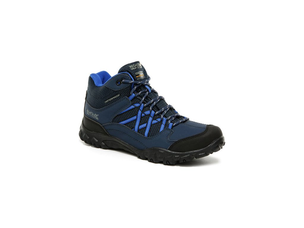 Dziecięce buty trekkingowe Regatta Edgepoint Mid JNR BKD