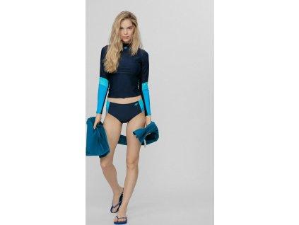 Dół stroju kąpielowego 4F KOS005D niebieski
