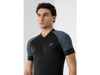 Męska koszulka rowerowa 4F RKM002 czarna