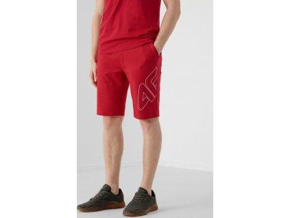 Spodenki męskie 4F SKMD015 czerwone