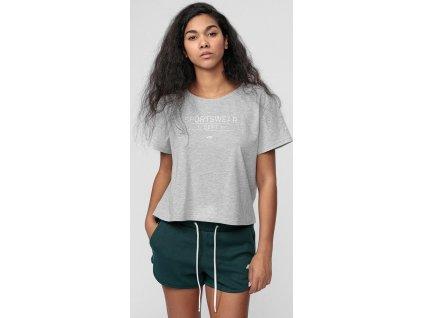 Koszulka damska 4F TSD013 szara