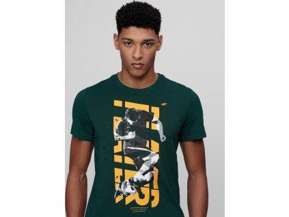 Koszulka męska 4F TSM011 zielona