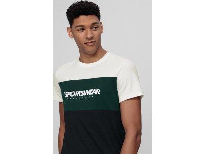 T-shirt męski 4F TSM016 Biały