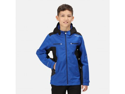 Dětská bunda Regatta RKW261 Jnr Highton Jk II 3MM Modrá