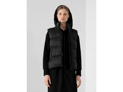 Dámská prošívaná vesta 4F H4Z21 KUDP001A černá
