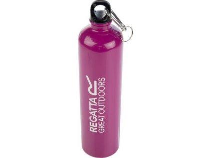 Różowa butelka Regatta RCE180 turytystyczna z karabińczykiem 1L