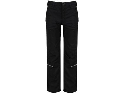 Dětské kalhoty REGATTA RKJ063 Heathtek Str II černá