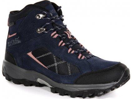 Granatowe buty turystyczne damskie RWF485 REGATTA  Clydebank