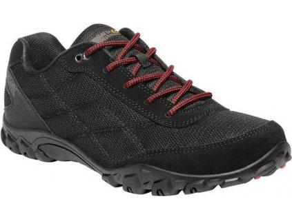Czarne buty na co dzień męskie RMF618 REGATTA Stonegate II