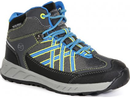 Szare buty turystyczne dziecięce  RKF509 REGATTA Samaris Mid