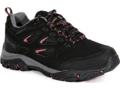 Czarne buty turystyczne damskie Regatta RWF572 Holcombe IEP Low