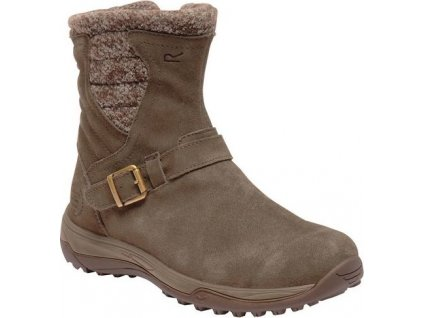 Damskie buty ocieplane RWF589 REGATTA Lady Argyle Brązowe