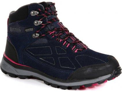 Damskie zamszowe buty trekkingowe RWF575 REGATTA Ldy Samaris Suede Granatowe