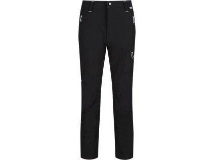 Czarne męskie rozciągliwe spodnie softshell Questra II Regatta RMJ225R