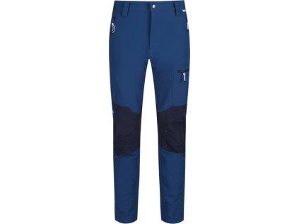 Granatowe męskie rozciągliwe spodnie softshell Questra II Regatta RMJ225R