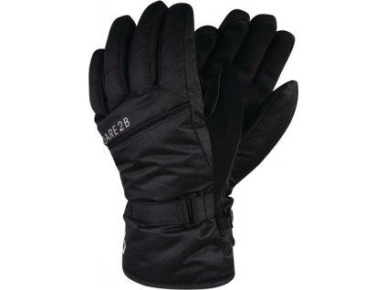 Dziecięce rękawiczki narciarskie DBG314 DARE2B Mischievous Czarny