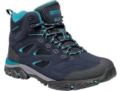 Buty trekkingowe do kostki REGATTA RWF573 Holcombe IEP Granatowo-niebieskie