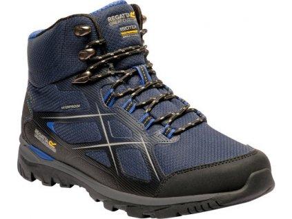 Męskie buty trekkingowe RMF624 REGATTA Kota Mid II Niebieski