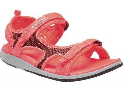 Pomarańczowe sandały damskie  RWF547 REGATTA Lady Ad-Flo