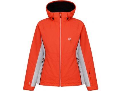 Kurtka damska narciarska DARE2B  DWP437 Thrive Pomarańczowy fluo