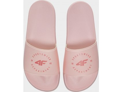 Klapki damskie 4F KLD202 Różowe