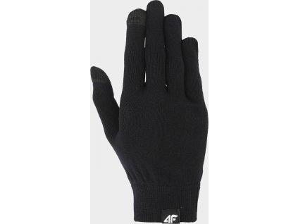 Rękawiczki unisex 4F REU300 Czarne