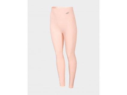 Damskie termo spodnie 4F BIDB154D Różowe