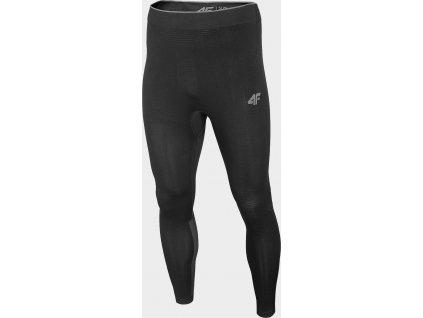 Męskie spodnie termiczne 4F BIMB301D Czarne