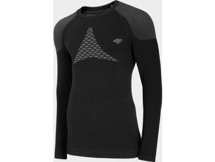 Męska koszulka termoaktywna 4F BIMB301G Czarna