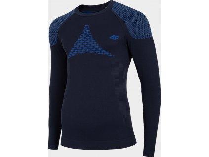 Męska koszulka termoaktywna 4F BIMB301G Granatowa
