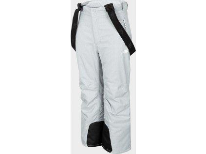 Spodnie narciarskie dziecięce 4F JSPDN401 Szare
