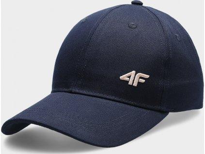 Damska czapka z daszkiem 4F CAD301 Ciemnoniebieski kolor