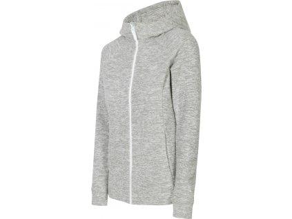 Damska bluza polarowa 4F PLD002 Szara