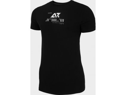 Koszułka męska 4F TSM208 Czarna