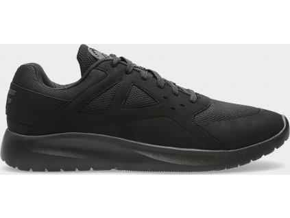 Sneakersy męskie 4F OBML202 Czarne
