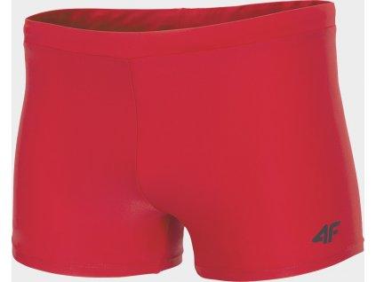 Kąpiełowki męskie typ bokserki 4F MAJM300 Czerwone