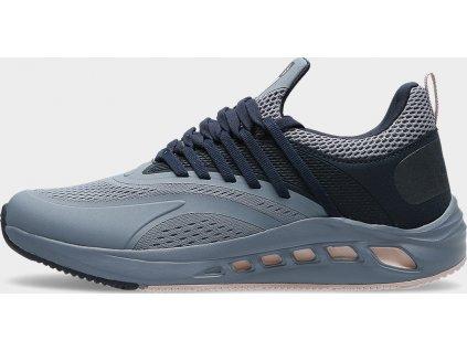 Damskie buty do biegania Gecko 4F OBDS102 Szare