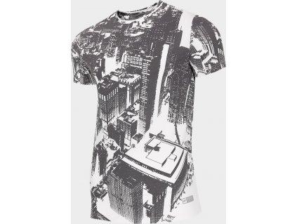 Koszułka męska 4F TSM206 Biała