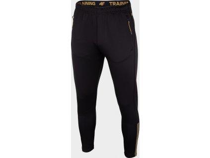 Spodnie męskie sportowe 4F  SPMTR201R Czarne