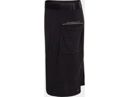 Długa spódnica damska Outhorn SPUD605 Czarna