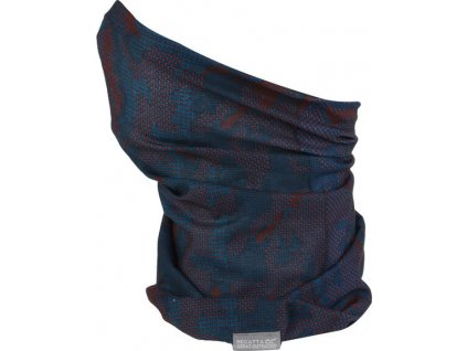 Multifunkční šátek REGATTA RKC103 K Print Multitube  Tmavě modrý