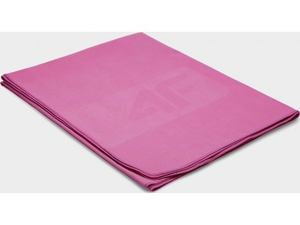 Ręcznik sportowy 4F RECU200B Różowy