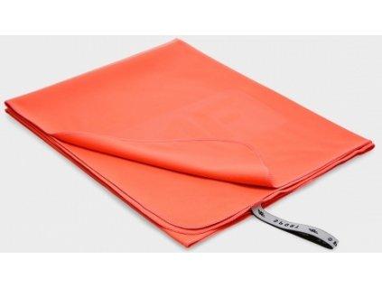 Ręcznik sportowy 4F RECU200B Pomarańczowy