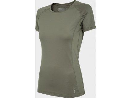 Koszułka damska sportowa Outhorn TSDF600 Beżowa