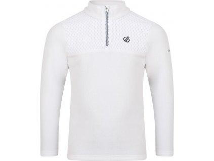 Bluza dziecięca fleece Mountfuse Fleece Biała