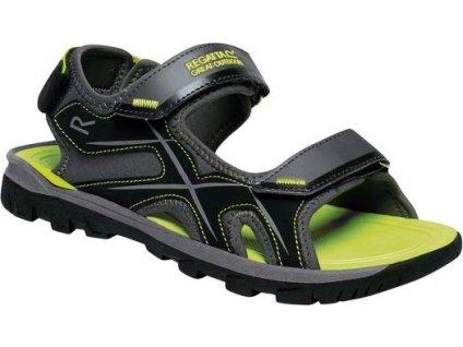 Sandały męskie Regatta RMF613 Kota Drift czarne